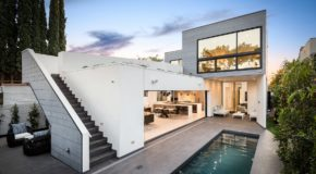 The Croft Residence in West Hollywood Balances Indoor & Outdoor Living
